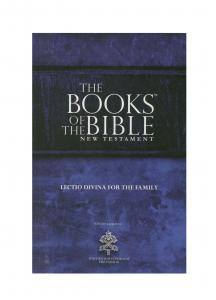 Community Bible Experience Catholic New Testament - The Books of the Bible
