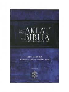 Community Bible Experience Tagalog Catholic New Testament
