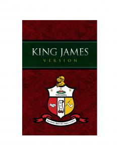 KJV Kappa Alpha Psi® Fraternity, Inc. Bible