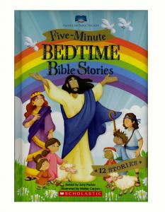 Five Minute Bedtime Bible Stories
