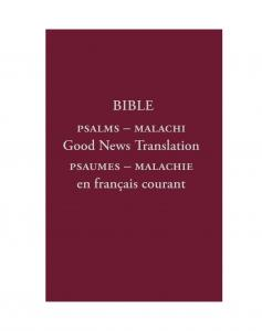 French - English Old Testament: Volume II - Print on Demand