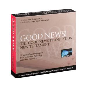 Good News Translation New Testament on Audio CD