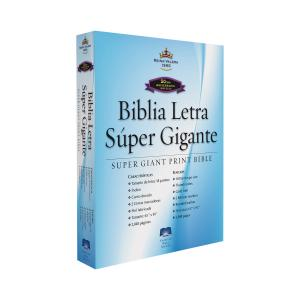 RVR60 Spanish Super Giant Print Bible - Special Edition