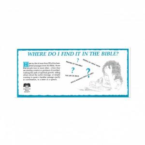 Where Do I Find It In The Bible? - Download