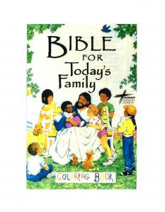 Bible for Today's Family Coloring Book - Download