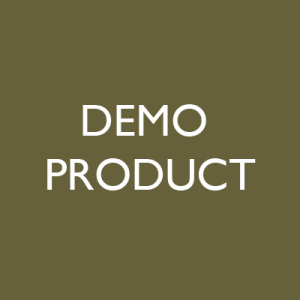 DEMO PRODUCT NOT FOR SALE