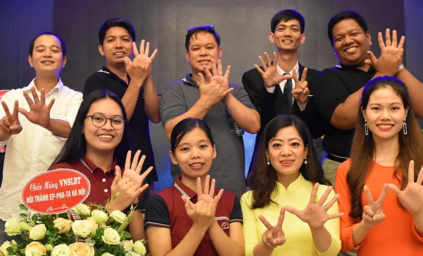 Bringing the Bible to the Deaf in Vietnam.
