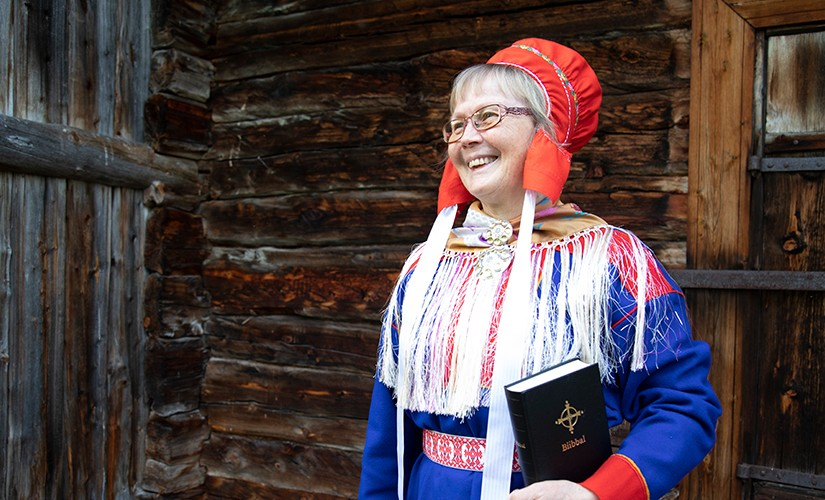 """""""Reading the Bible in Northern Sámi moves me to tears."""""""