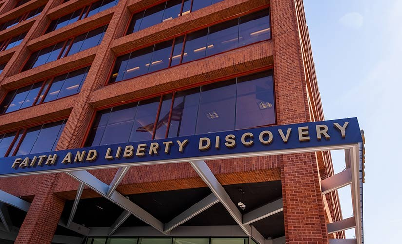 It's Here! The Grand Opening of the Faith and Liberty Discovery Center