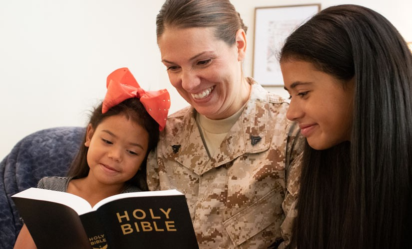 New Bible Program to Support Military Children