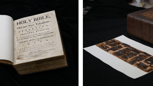 Images of the Betsy Ross bible