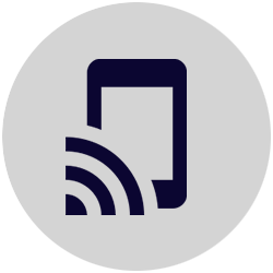 icon of a wifi phone